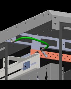 Rack Bonding Conductor - To Horizontal Busbar