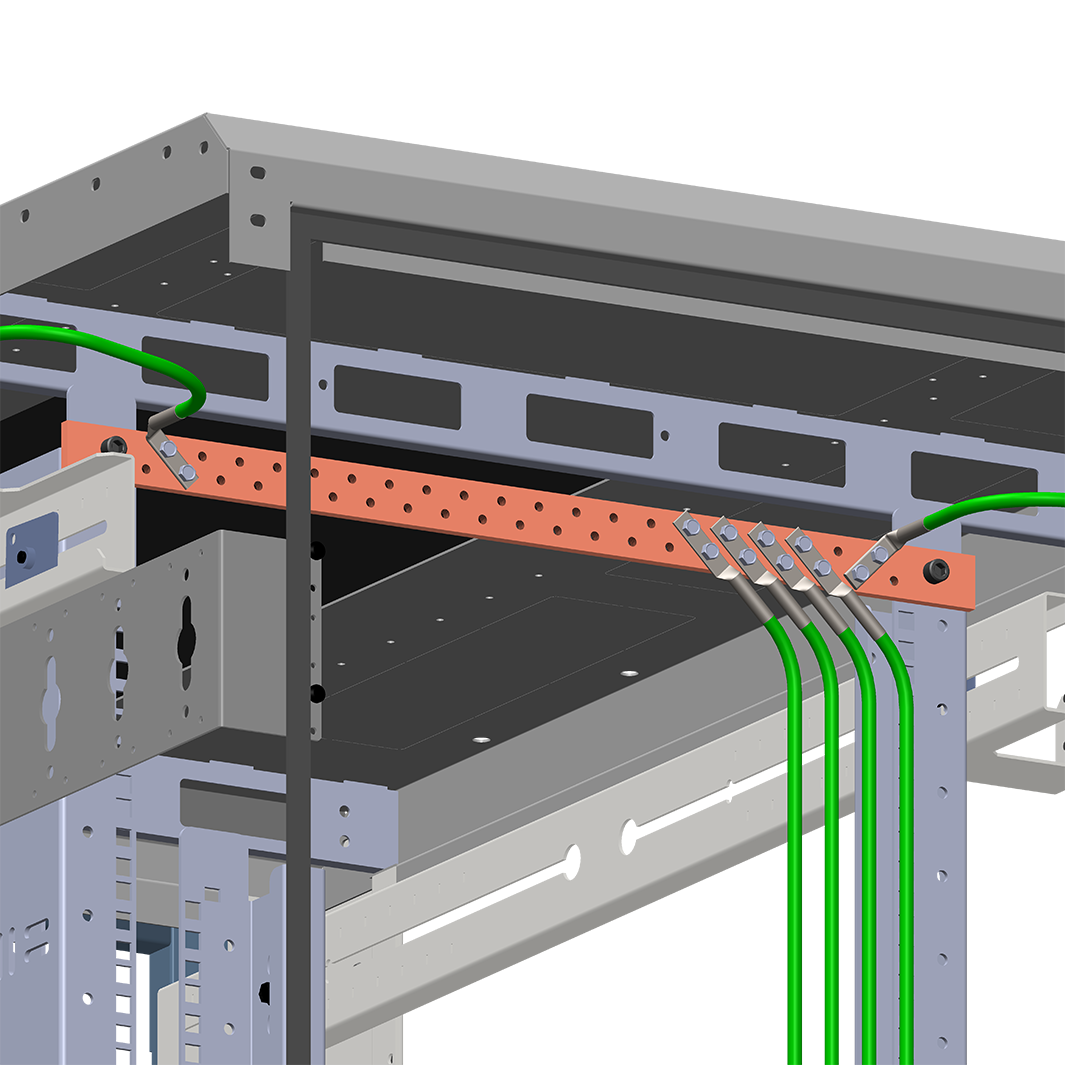 Rack Grounding Busbar - Horizontal