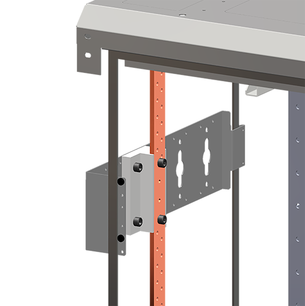 Rack Grounding Busbar - Vertical