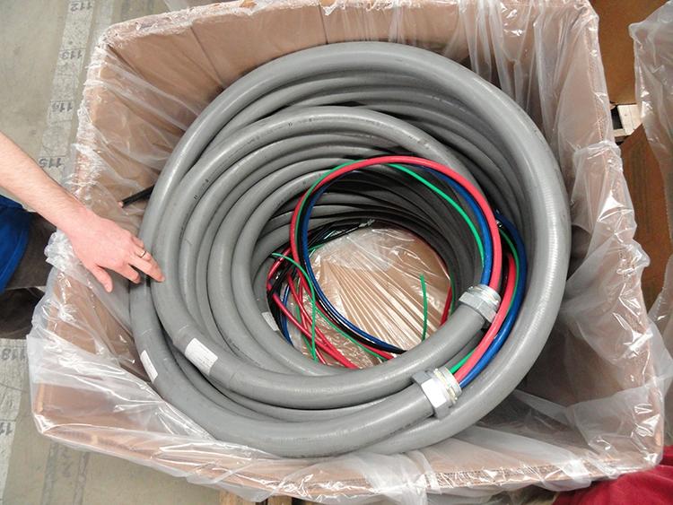 "3"" Diameter Feeder Cable"