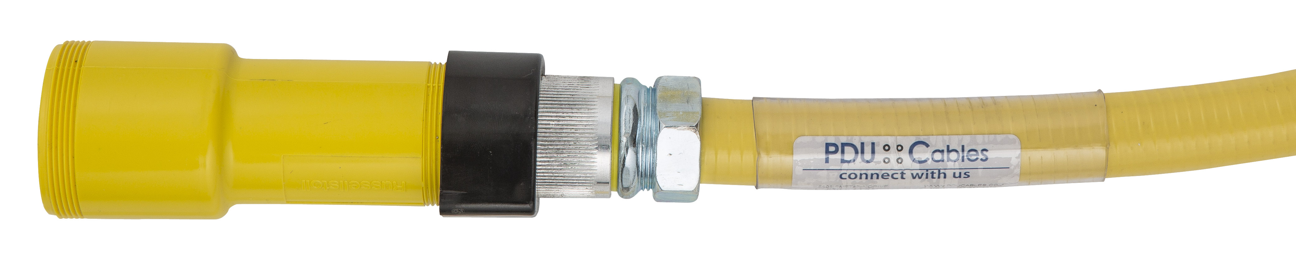 Russell Stoll Thomas & Betts style data center power cable plug and receptacle IBM style