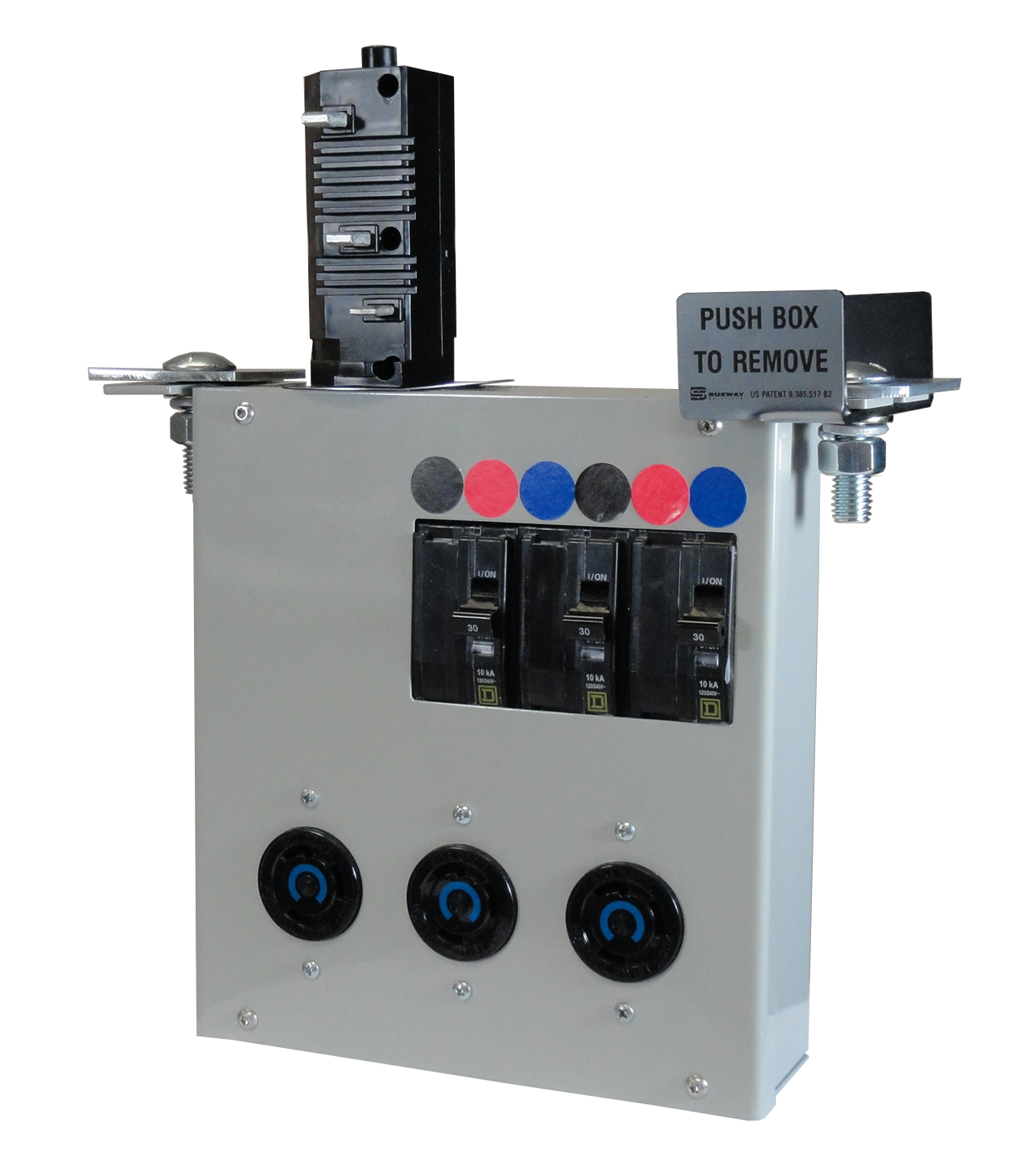 Busway Solutions Tap-Off Box with Dual Mounting Tabs