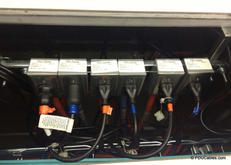 Custom Labeling Of Data Center Power Distribution Cables