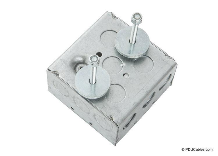 Dual uni-strut mounting bolt on 1900 style box