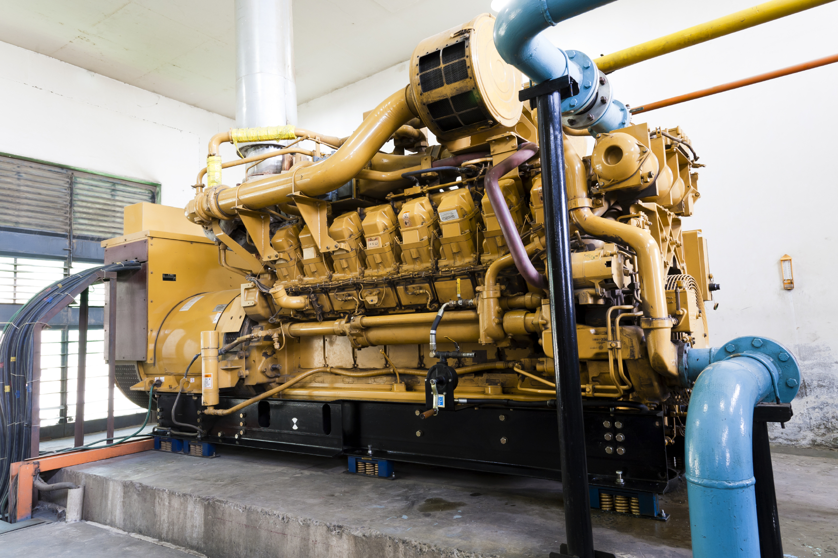 Backup Diesel Generators